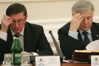 Після Огризка ПР зібралася звільнити Єханурова і Луценка