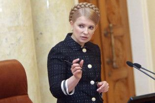 Тимошенко пішла на засідання НУ-НС говорити про Огризка