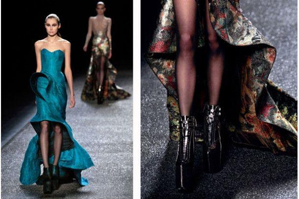 Перші покази тижня моди у Парижі