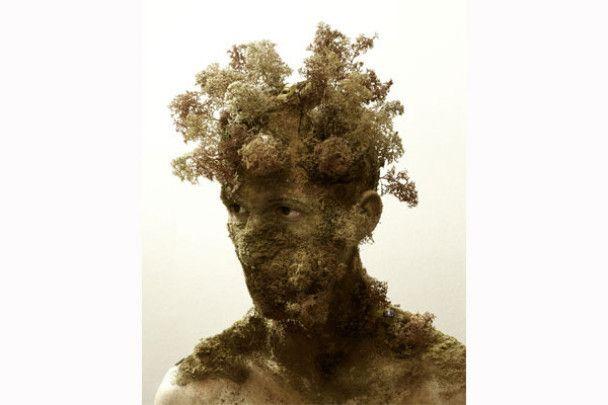 Голандець створює скульптури з обличчя