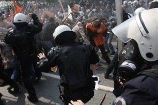 В Стамбулі побилися захисники природи з поліцією