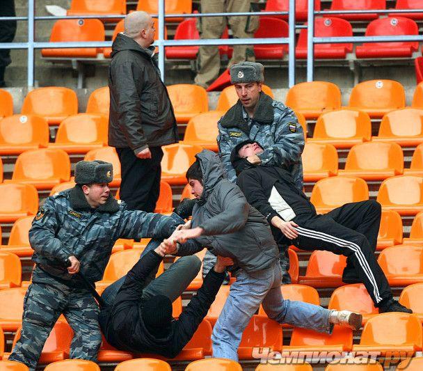 Чемпіонат Росії розпочався з жахливої бійки
