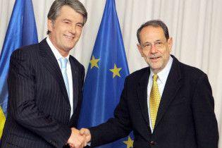 Ющенко провів зустріч з генсеком ради ЄС