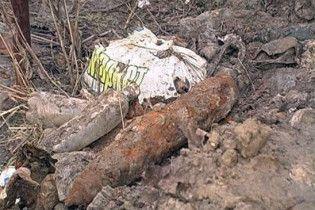 У Криму біля житлових будинків знайшли 100-кілограмову бомбу