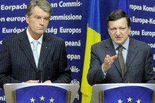 Баррозу порадив Ющенку брати з нього приклад