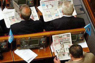 Рада збирається перевести ЗМІ на українську мову