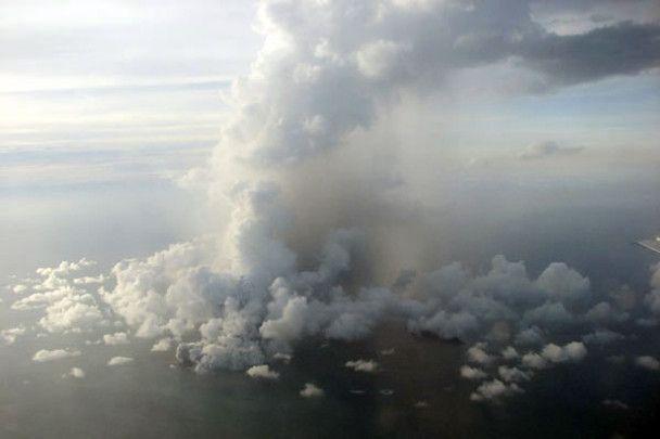 Виверження підводного вулкану