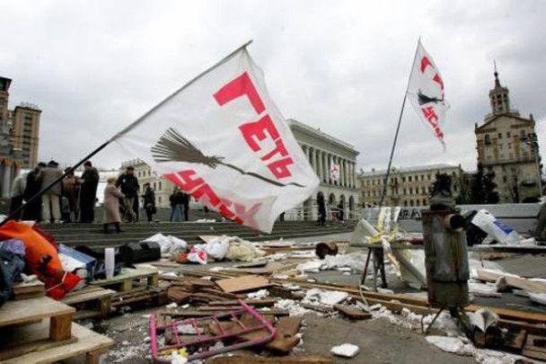 Міліція затримала ймовірного організатора погрому на Майдані