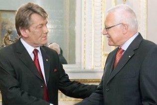 Ющенко поїхав до Чехії зближати Україну з ЄС