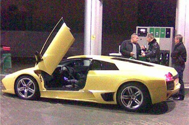 Аварія Lamborghini Murcielago