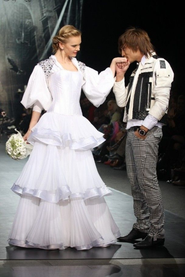 Діма Білан одружився на подіумі