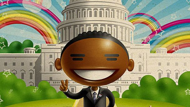 Рекламу морозива з образом Обами визнали расистською