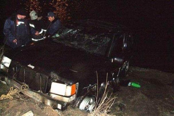 У Донецьку з річки витягли джип з трупом жінки