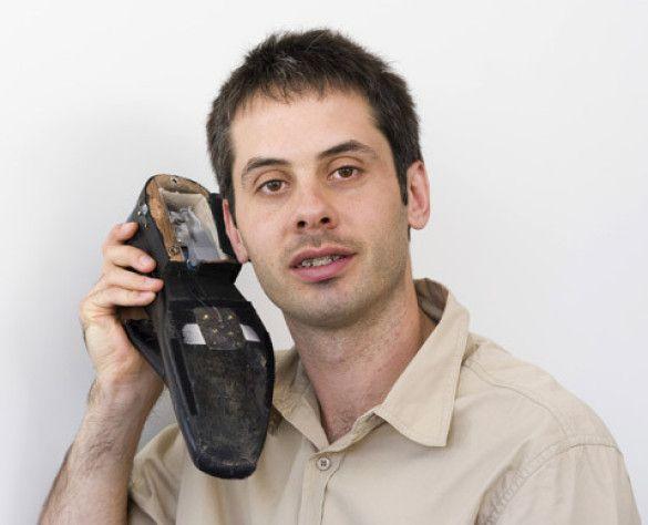 Пол Гарднер-Стівен зі своїм диво-мобільним