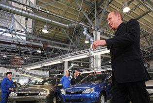 """Путін похвалив """"Форд"""", а собі придбав """"Ниву"""""""