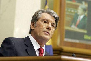 """Ющенко піде на всі вибори. За ним """"стоять мільйони"""""""