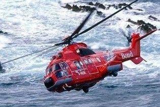 Вертоліт з 16 людьми впав у Північне море