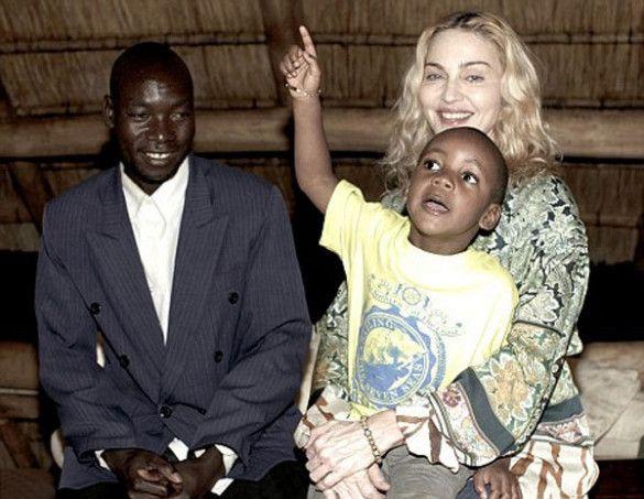 Мадонна в Малаві