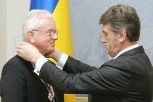 Слідом за Черновецьким Ющенко дав орден Ярослава Мудрого голові Європарламенту