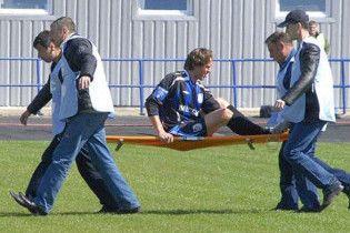 Сергій Федоров отримав важку травму у дебютному матчі