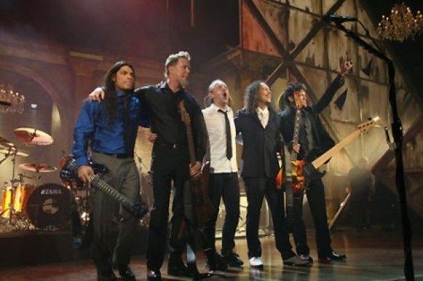 Metallica визнана найкращою рок-групою останніх 30 років