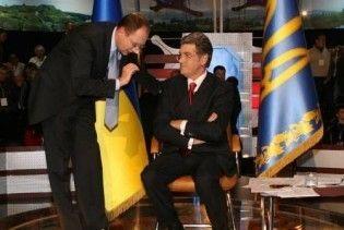 Яценюк не бачить себе спадкоємцем Ющенка