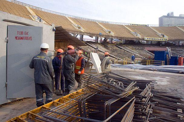Ющенко зводив Платіні на стадіон