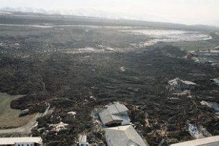 В результаті величезного зсуву ґрунту в Киргизії загинули 16 людей
