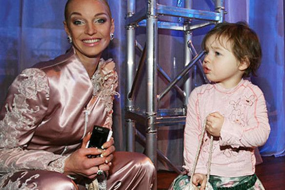 Волочкова з донькою Аріною