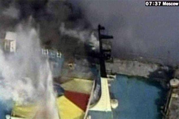 Біля Австралії нелегали підпалили власне судно