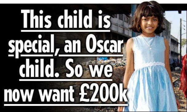 """Батько героїні """"Мільйонера з нетрів"""" не продає доньку"""