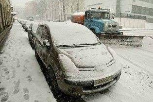 Снігопад у Москві спричинив понад 1,6 тисячі аварій