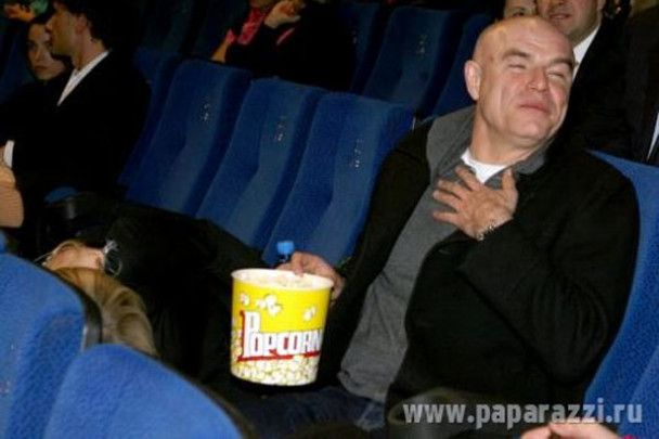 Бондарчук розтанцювався на концерті Гоші Куценка