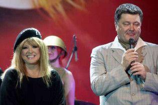 Алла Пугачова у Києві танцювала з Порошенком