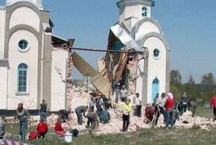 На Тернопільщині розвалилась церква Московського патріархату