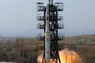 Північна Корея вивела на старт міжконтинентальну ракету