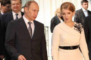 Путін пропонує Тимошенко розробити спільну антикризову політику