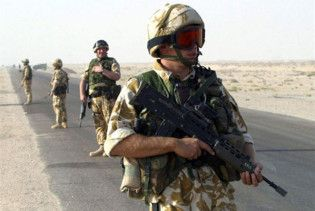 Британія достроково виводить війська з Іраку