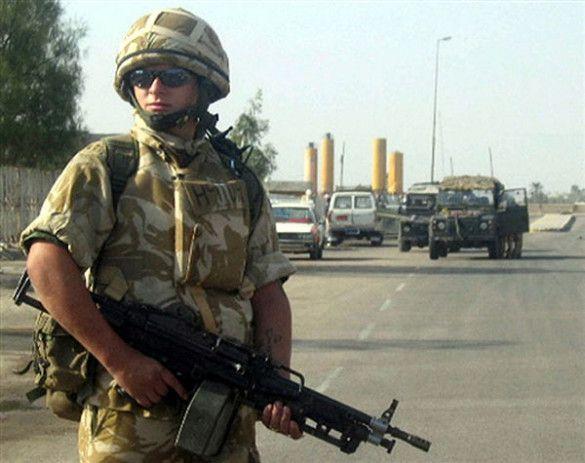 Британські військові в Іраку