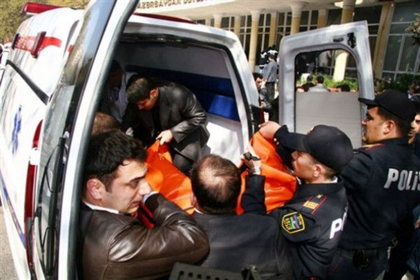 Кривава бійня в університеті Баку