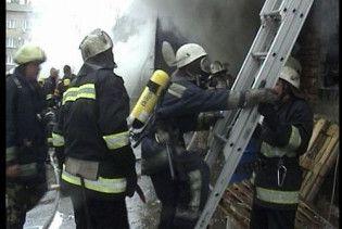 У центрі Києва згоріли чотири балкони