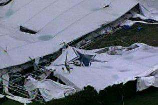 На стадіоні в США завалився дах