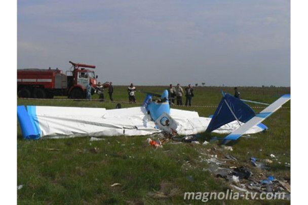 У Кіровограді розбився навчальний літак. Загинуло двоє осіб