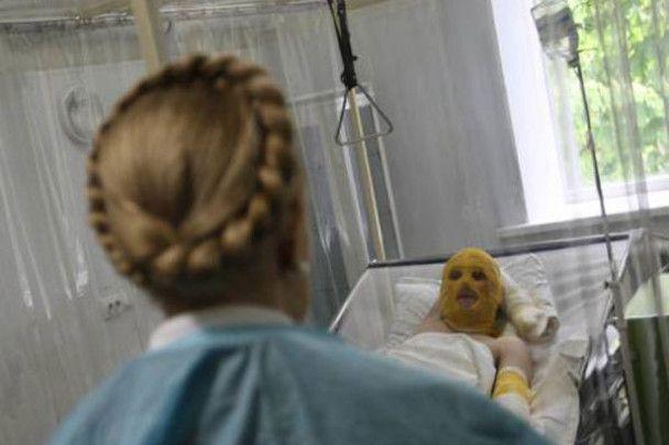 Тимошенко побувала на місці пожежі в Дніпропетровську