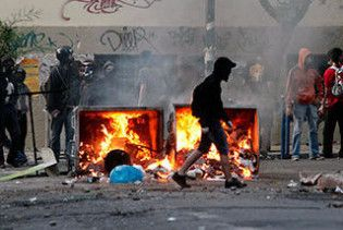 В Афінах відбулися зіткнення анархістів з праворадикалами