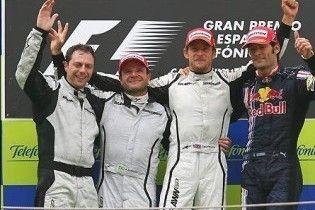 Brawn GP здобула подвійну перемогу на Гран-прі Іспанії