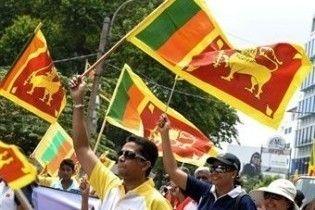 """Президент Шрі-Ланки оголосив про повну перемогу над """"Тиграми"""""""