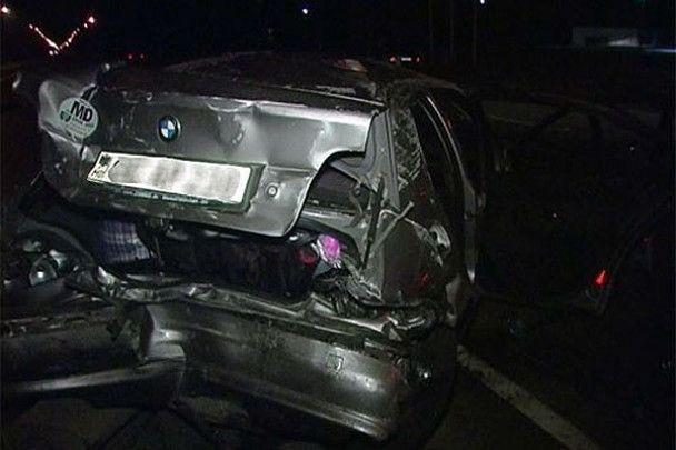 Водій без прав влаштував аварію в Києві: п'ять постраждалих