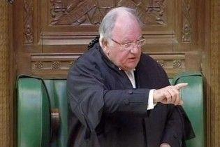 Через фінансовий скандал пішов у відставку спікер Британії