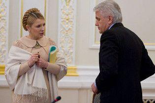 Тимошенко вимагає в Литвина скасувати депутатські пільги